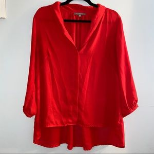 NY Collection Red Blouse